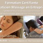 [ Agenda ] Praticien Massage en Entreprise